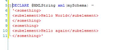 Content XML Query